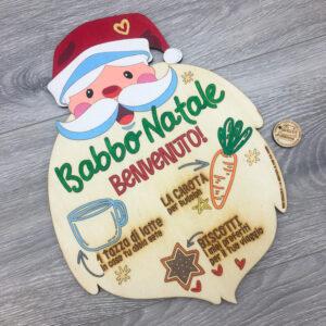 Vassoio Babbo Natale