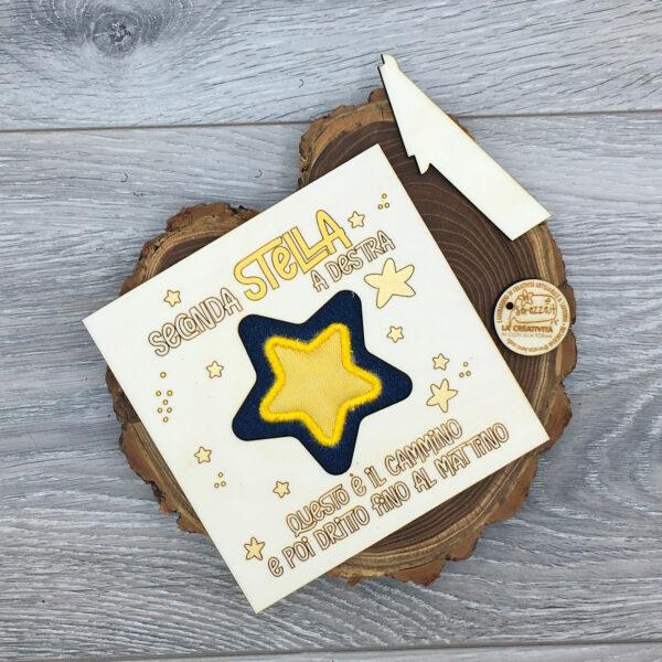 quadretto stella